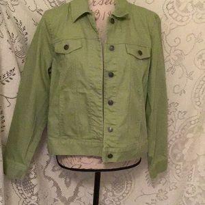 Appleseed's- Summer Colored Denim Jacket